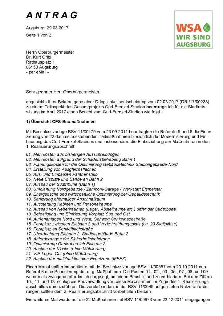 WSA-Antrag vom 29.03.2017 zum Curt-Frenzel-Stadion^J Seite 1