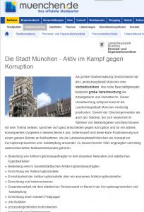 14 München - Kampf gegen Korruption - oberer Teil