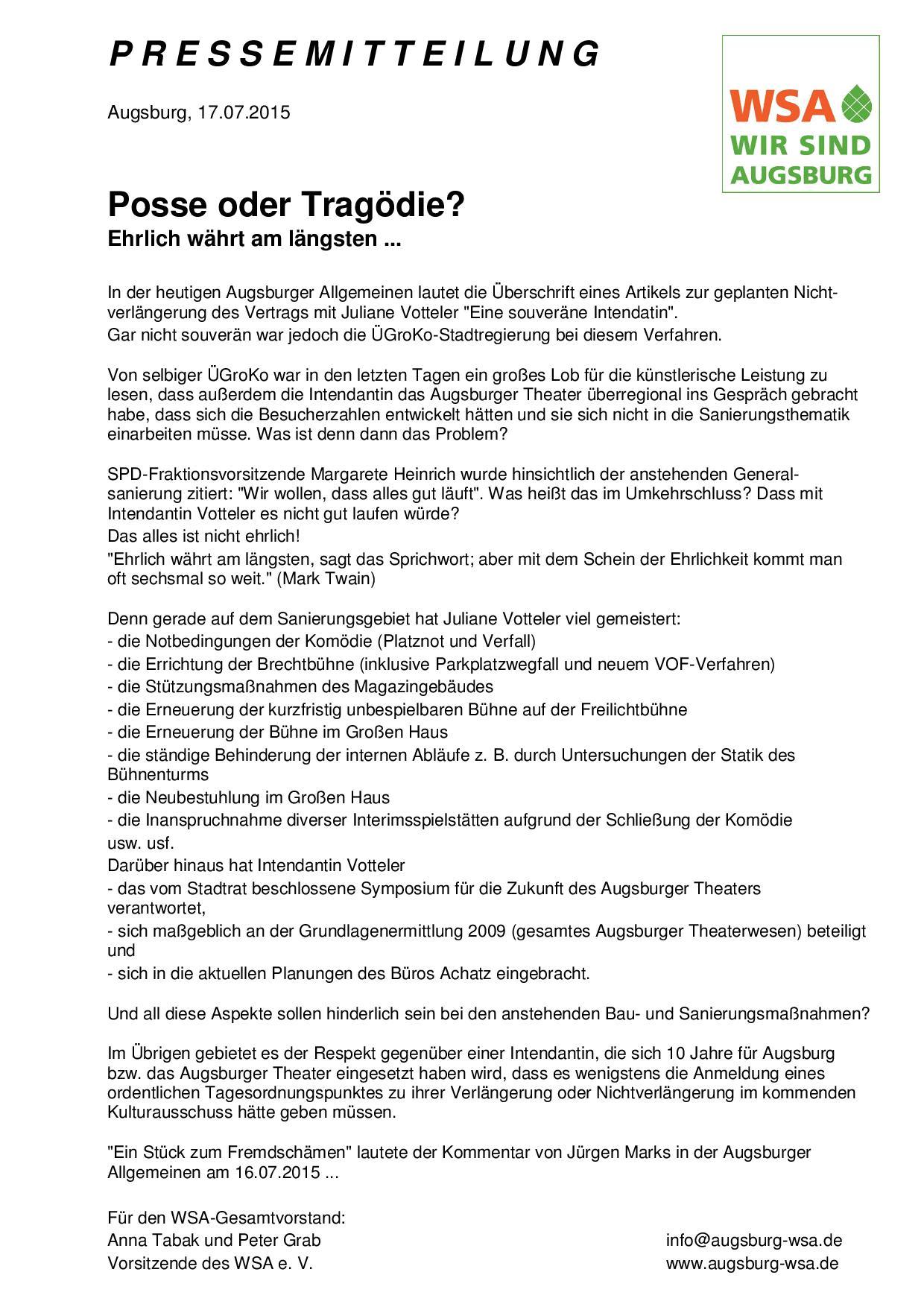 WSA-Pressemitteilung vom 17.07.2015 zur Nichtverlängerung des Intendantin-Vertrags-001