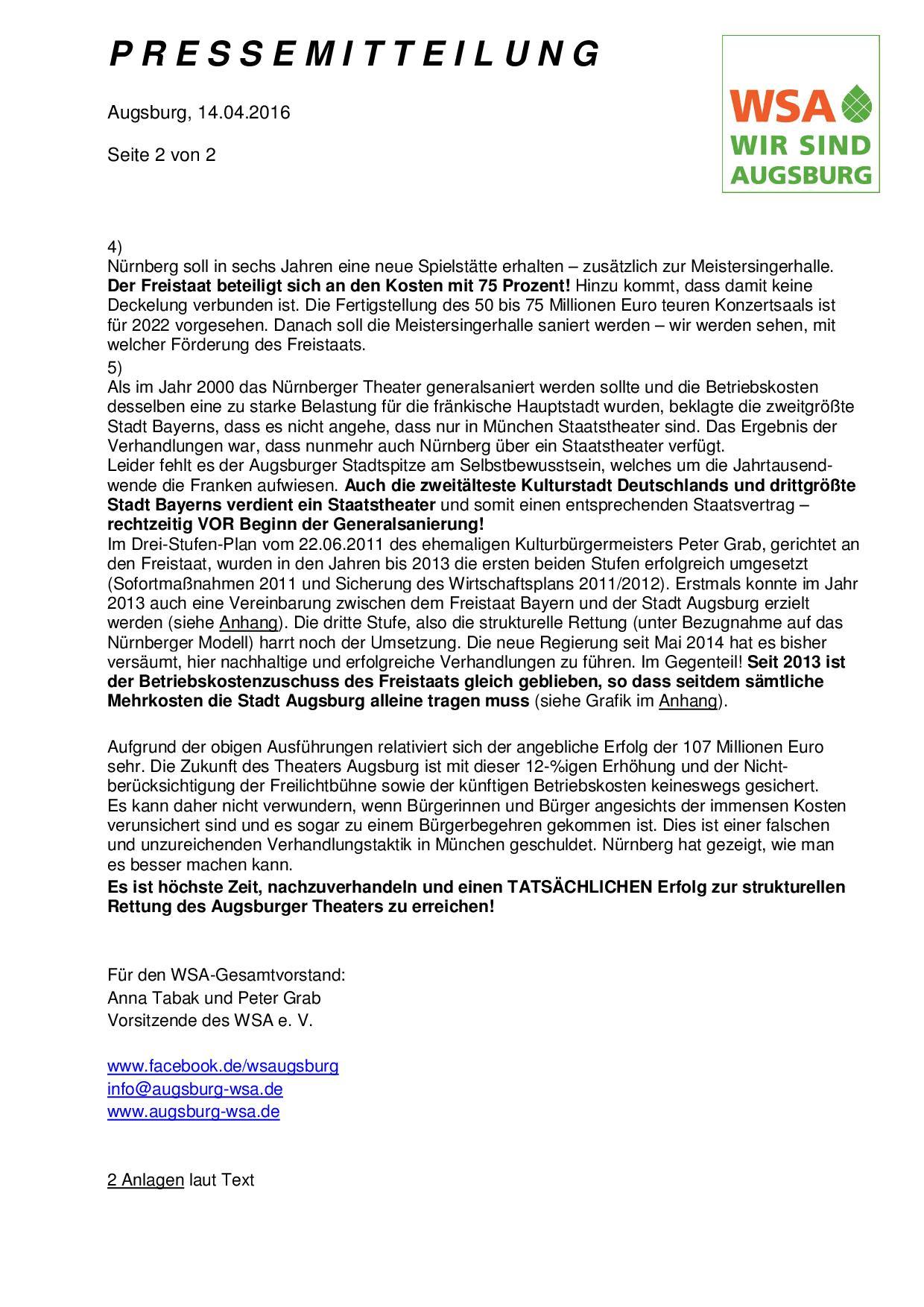 WSA-Pressemitteilung vom 14.04.2016 zu den Verhandlungen zur Zukunftssicherung des Augsburger Theaters-002