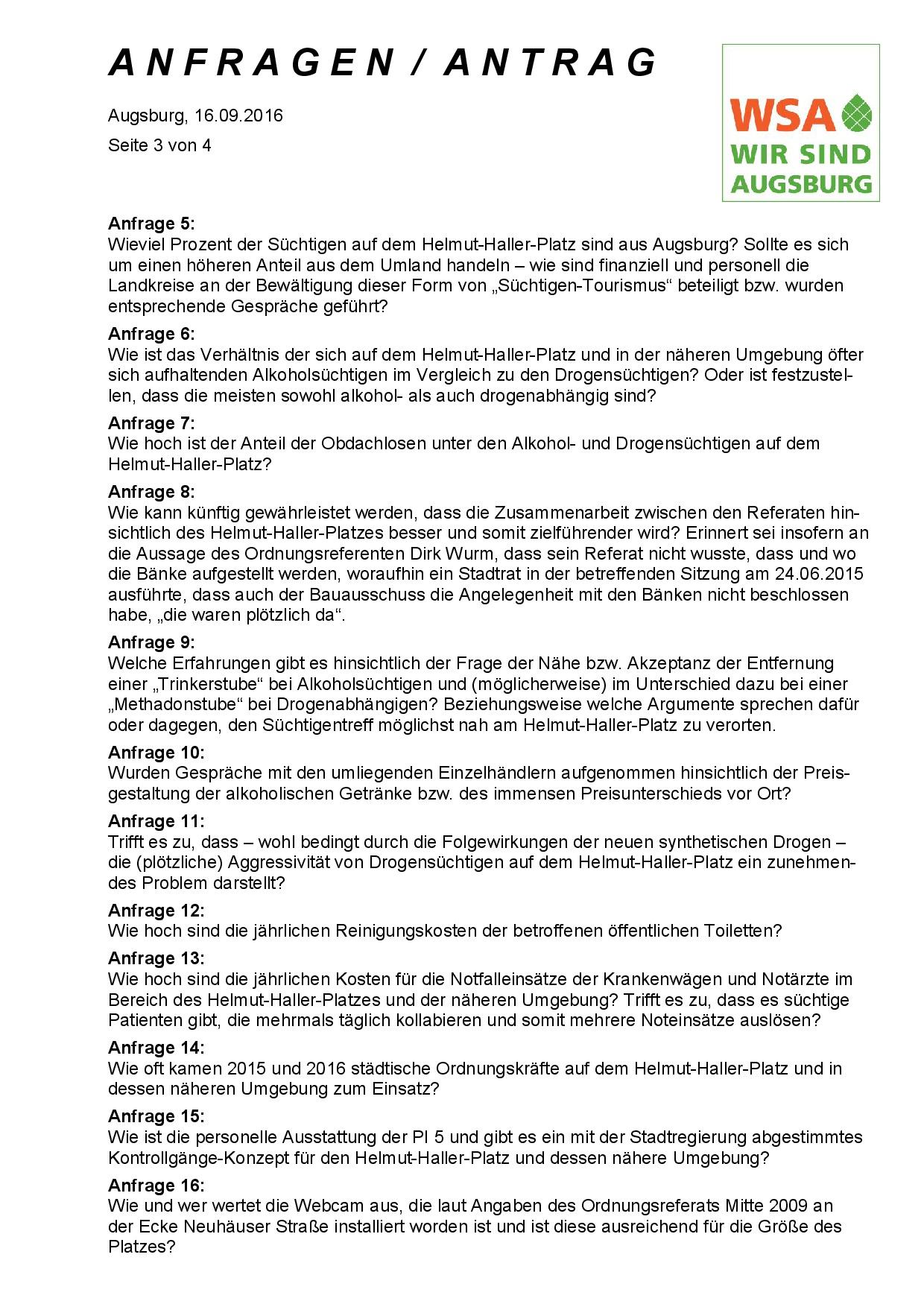 WSA-Antrag und -Anfragen vom 16.09.2016 zum Helmut-Haller-Platz, Seite 3